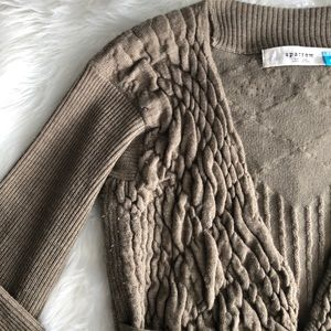Anthropologie Sweaters - Sparrow • Olive Belted Cardigan
